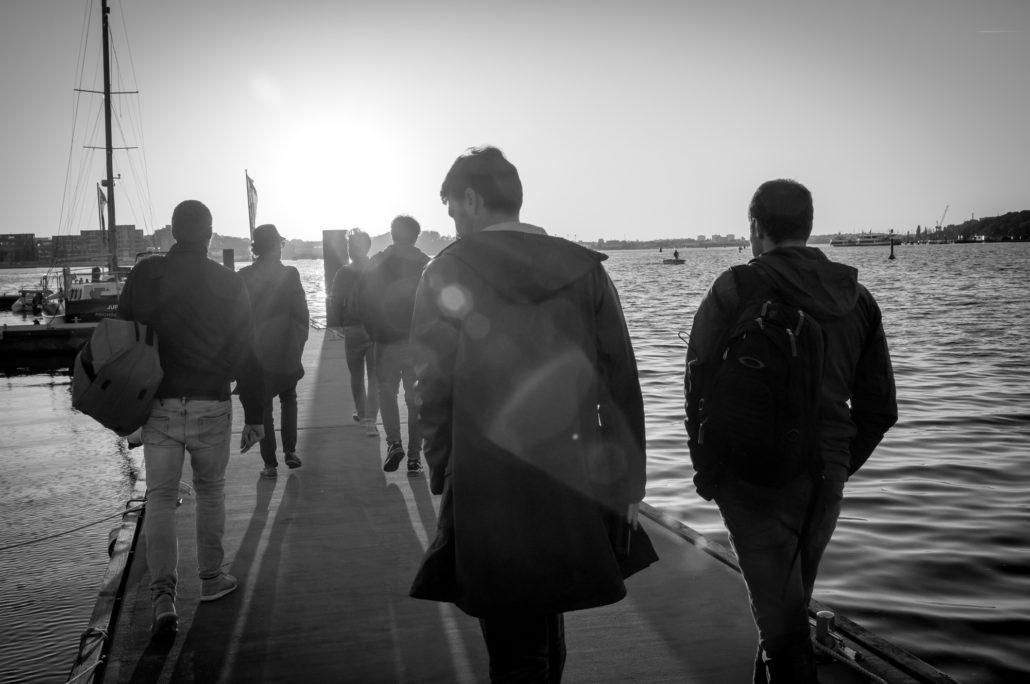 Heimathafen im Rostock Stadthafen | WIRO Steg