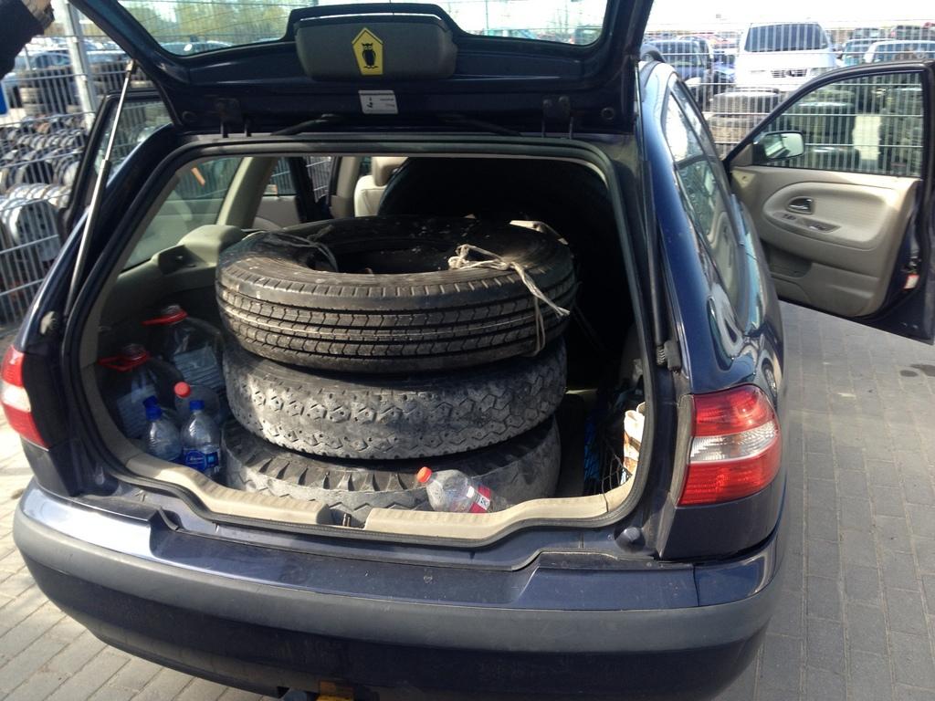 neue pneus