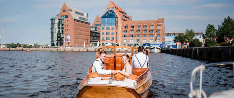 Fotoshooting im Rostocker Stadthafen
