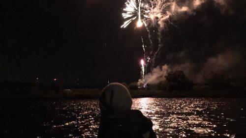 Hanse Sail Feuerwerk