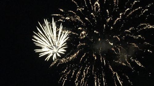 Feuerwerk im Stadthafen
