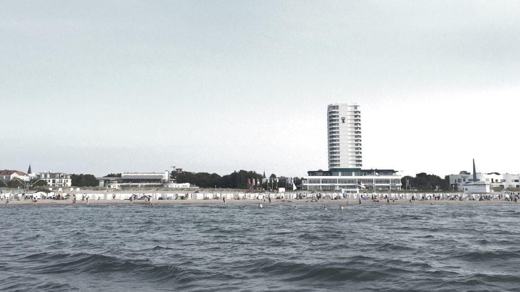 Ostsee vor Warnemünde