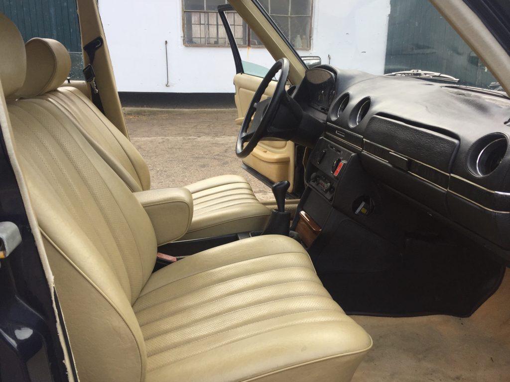 Cockpit der Limousine