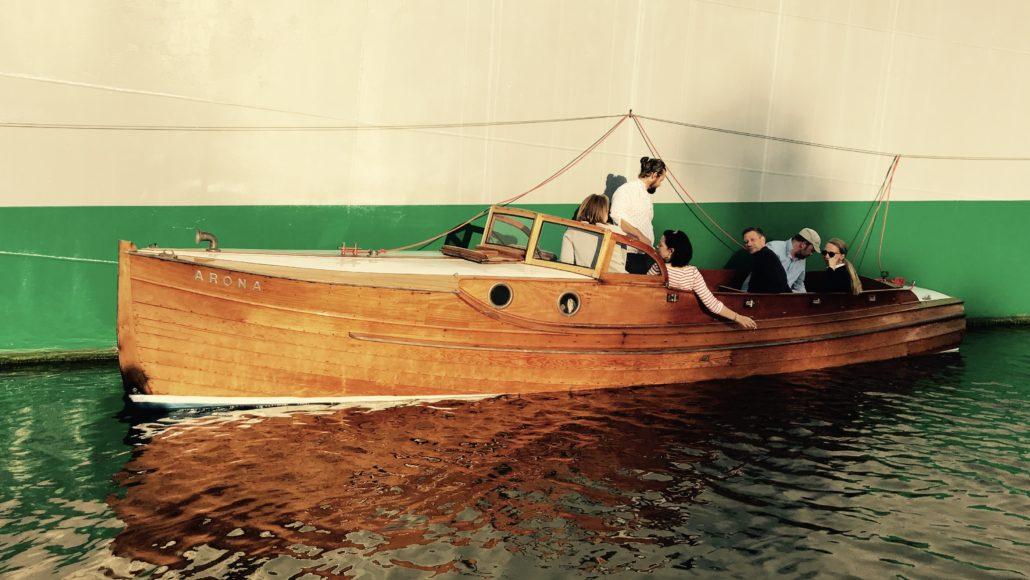 Hafenrundfahrt zum Traditionsschiff