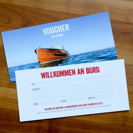 Gutschein Hafenrundfahrt Rostock Stadthafen Limousine One Way